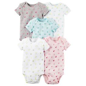 Set Body Carters X5 Pzas Para Bebe Niña Ropa Carter Original