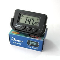 Relógio Digital Kenko Portátil Carro Alarme Data Cronômetro