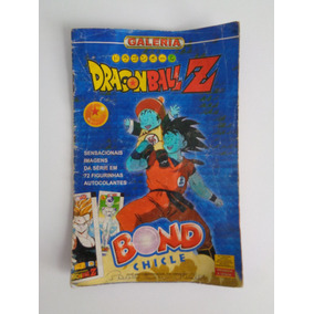 Álbum Dragon Ball Z - Fase Cell - Chicle Bond 2001