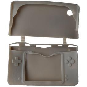 Case Capa De Silicone Nintendo Dsi Ndsi Xl - Cinza
