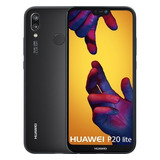 Huawei P20 Lite. Libre. Nuevo. Negro. 4gb De Ram