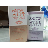 Cremas Aclarantes Snow White. Milky Lotion Y Spot Gel.