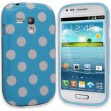 Estuche Tpu Azul Y Blanco Samsung Galaxy S3 Mini Gt I8190