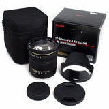Lente Sigma 17-50mm Canon F2.8 Ex Parasol + Bolsa P. Entrega
