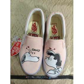 Tenis Zapatillas Vans Snoopy Mujer Envio Gratis