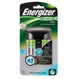 Cargador Baterias Aa Energizer Con 4 Aa 2300 Mah Recargables