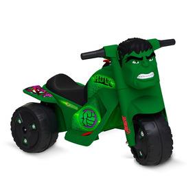 Moto Elétrica - 6v - Disney - Marvel - Hulk - Bandeirante