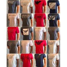 Kit 20 T-shirts Armani Jeans Tommy Ax Ck John John Originais