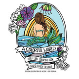 Book : A Colorful World Adult Coloring Book - Surf & Sun -..