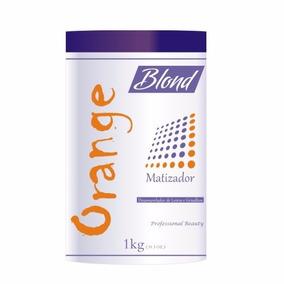 Orange Matizador Blond Loiros E Grisalhos 1kg