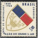 C-594-colégio São Luís -ano 1968-selo Comemorativo Novo