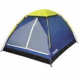 Barraca Camping Mor Iglu 3 Pessoas Fácil Instação Completa