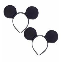 Tiara Orelha De Mickey Festa Infantil Fantasia Kit C 15