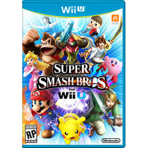 Super Smash Bros Wii U Novo Lacrado