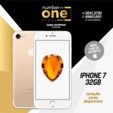 Iphone 7 32g Novo,garantia Apple E Nota Fiscal