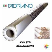 Rollo Fabriano Accademia 200 Grs. 1,50 X 10m. Mercadoenvios