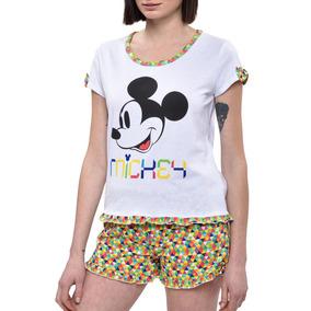 Pijama Dos Piezas Mickey Blanco Dijon