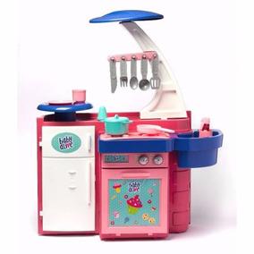 Cozinha Infantil Baby Alive C/ Acessórios Cotiplas + Frete