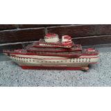Antiguo Barco Artesania Restaurar Vintage Coleccion