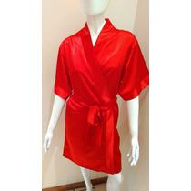Bata Kimono Corto Seda Fria Adagio. Cod. 2001a