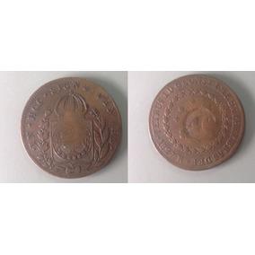 Vendo Moeda Antiga Brasil 80/40 - 1827 - Cobre