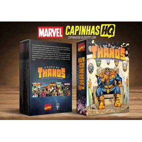 Caixa Box Luva A Saga De Thanos - Abril Jovem - Marvel