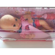 Muñeca Little Mommy Recién Nacida Marca Fisher Price 30 Cm