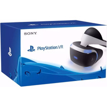 Playstation Vr Oculos Realidade Virtual Ps4 Headset Novo Top