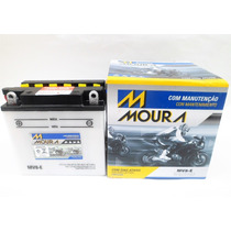 Bateria Moto Moura Mv8-ei Suzuki Yes Gsr 150i Marcio Motos