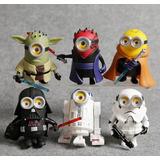 Padrisima Coleccion Los Minions Edicion Especial Star Wars