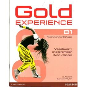 Libro Inglés Gold Experience B1 / Workbook