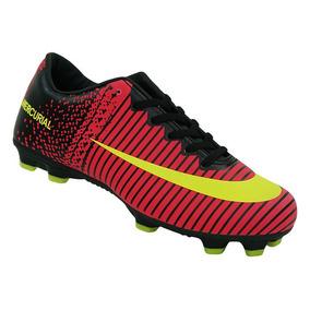Chuteira Campo Nike Mercurial Vortex 3 Trava Alta Promoção