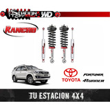 Suspesion Rancho 9000 Quicklift Hilux, Fortunner Y 4runner