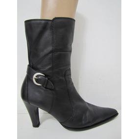 Botas / Zapatos Azaleia Cuero Negro Talla 40 Envío Gratis¡¡