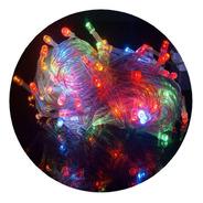 Guirnalda Luces Led 100 Focos 8 Metros Colores 220v Navidad