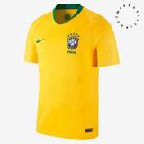 Camisa Brasil 2018 Camiseta Seleção Brasileira - Torcedor