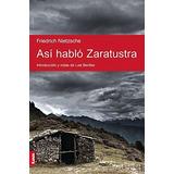 Libro Asi Hablo Zaratustra De Friedrich Nietzsche