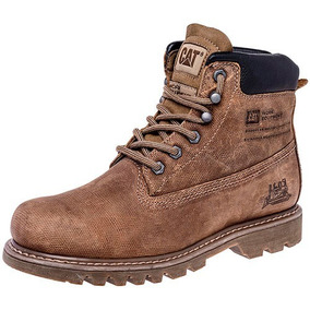 Botas Caterpillar Para Caballero Cafe 100% Original 77334