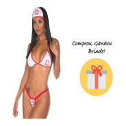 Fantasia Kit Enfermeiro Enfermeira Adula Para Casal Carnaval