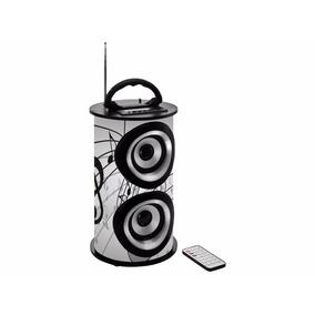 Caixa De Som Amplificada Trc 218b Bluetooth,usb Rádio C/cont