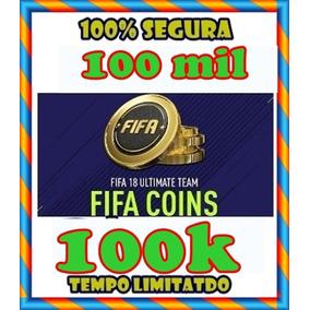 Fifa Coins Ps4 100k Cubro 5% +2.000 Coins Brinde