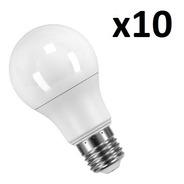 Pack X10 Lampara Foco Led 15w Fria Calida E27 Interelec 220v