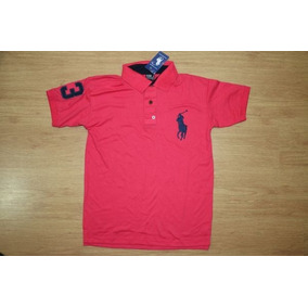 Camisa Gola Polo Roupas Masculinas Camisas Polo Cor Principal ... ae6af98bbdb33