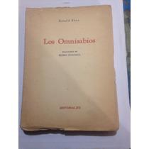 Libro Antiguo Los Omnisabios 1945