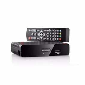 Conversor E Gravador De Tv Digital Multilaser Re207 Controle