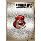 Dvd O Melhor Do Acustico Mtv Mpb Samba - Cassia - Kid - Zeca