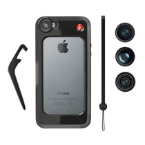Accesorio Klyp+ Iphone 5/5s + Fisheye 1.5x + Wal Manfrotto