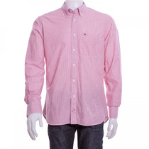 Camisa Social Masculina Tommy Hilfiger Custom Fit Original