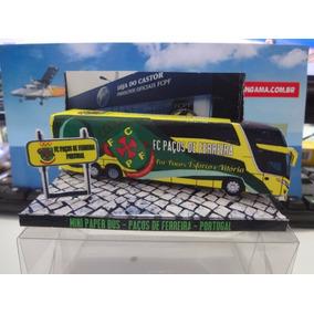 Mini Bus Paper - Miniatura Do Onibus - Paços De Ferreira