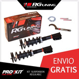 Amortiguadores Regulables Jorsa Del Clio 2 1.2 Rg Kit